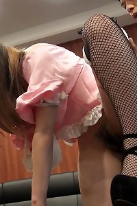 Japanese girl humped in public